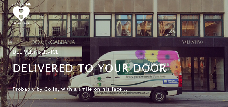 Our Deliveries Sunshine Garden Services Ltd