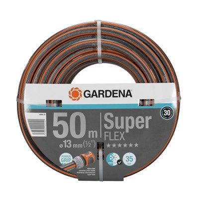 "Gardena Premium SuperFLEX Hose, 13 mm (1/2""), 50 m"