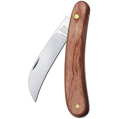 Felco Pruning Knife Hardwood Handle
