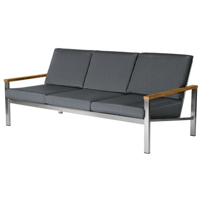 Barlow Tyrie Equinox Three-Seater Settee