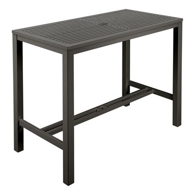 Barlow Tyrie Aura HD Aluminium Dining Table 140 Rectangular
