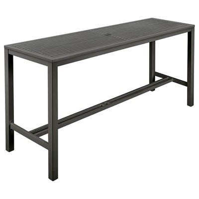 Barlow Tyrie Aura HD Aluminium Dining Table 200 Rectangular
