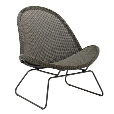 Bepal Lounge Chair (Meteor / Licorice)