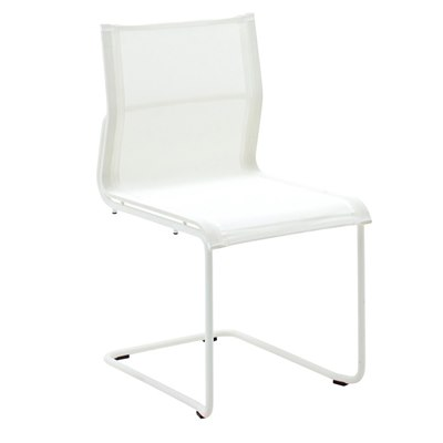 Sway Stacking Chair (White / White)