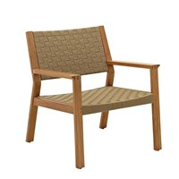 1820MB Maze Lounge Chair - Buffed Teak (Malt Strap)