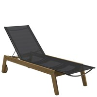 1850ANB Solana Sling Lounger - Buffed Teak (Anthracite)