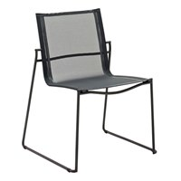 3801MG Asta Stacking Chair (Meteor / Grey)