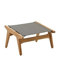 7911GNB Bay Footstool - Buffed Teak (Granite)