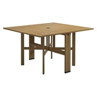 9340MB Voyager Rectangular Gateleg Table - Buffed Teak (Meteor)
